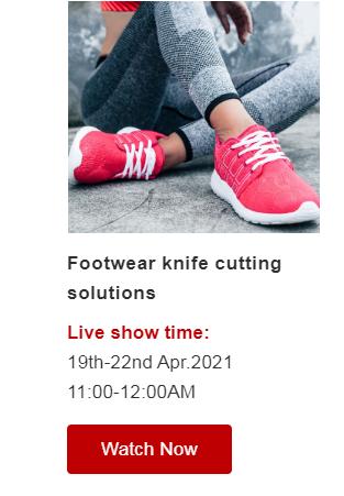 footwear knife cutting solutions